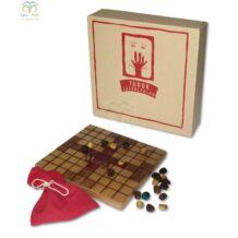 Fa táblás logikai játék - Tablut (Királyüldözés)