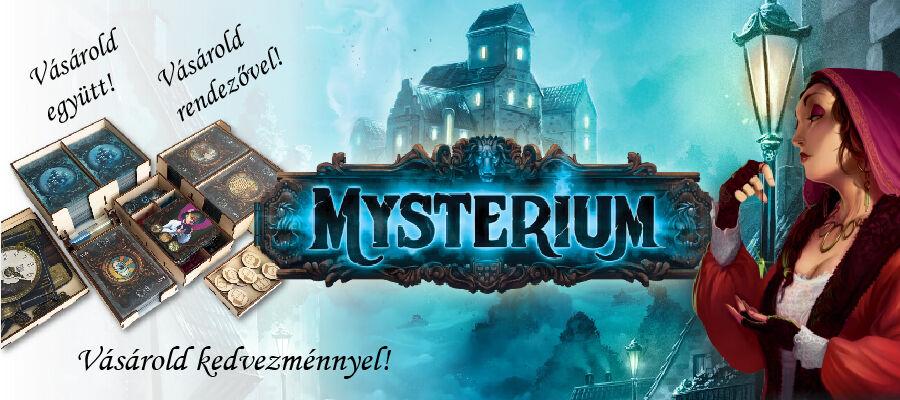 Mysterium október - kedvező ysterium akciók a SAS és KOS társasjáték szaküzlettől