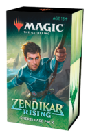 Magic The Gathering Zendikar Rising Prerelease Pack 2020 09 18-19