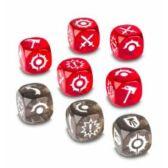 Warhammer Underworld: Shadespire: Khorne Bloodbound Dice Pack - kocka csomag