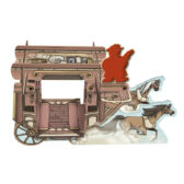 Horses & Stagecoach