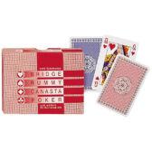 Kártya - Classic franciakártya 2x55 lap