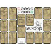Munchkin kellék kártyák