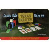 Póker Zseton készlet (200 db-os) - Texas Hold'em