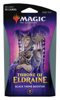 Magic The Gathering Throne of Eldraine Theme Booster Display