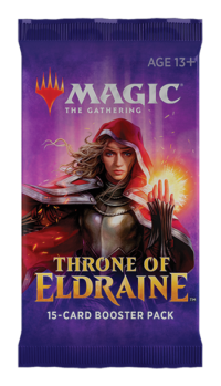Magic The Gathering Throne of Eldraine Booster Display - Draft Booster