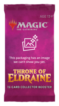 Magic The Gathering Throne of Eldraine Collector Booster Display