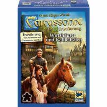 Carcassonne - Fogadók és katedrálisok - 1. kiegészítő