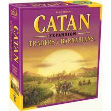 Catan Traders & Barbarians 5-6 fős kiegészítő(fa darabos) kiegészítő, angol nyelven
