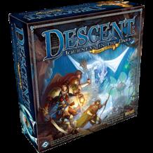 Descent 2nd edition (angol) BONTOTT társasjáték