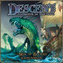 Descent: The sea of blood kiegészítő BIZOMÁNYOS társasjáték