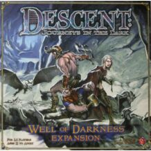Descent: Well of darkness kiegészítő BIZOMÁNYOS társasjáték