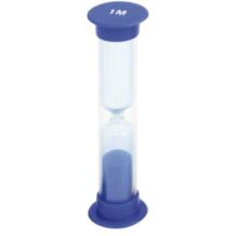 Homokóra - 1 perces (kék színben)