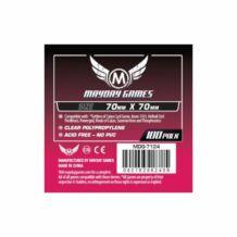 Kártyavédő tok - (100 db) - 70 mm x 70 mm - Mayday Games MDG-7124