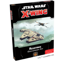 Star Wars X-wing: Resistance conversion kit (eng)