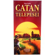 Catan telepesei kiegészítő 5-6 főre