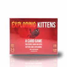 Exploding Kittens replika / kompakt kiszerelés
