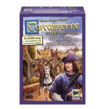 Carcassonne - Gróf, király és udvarhölgy (germ)