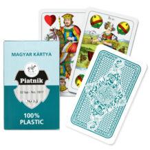 Hagyományos magyar kártya 100% plasztik