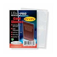 Kártyavédő tok - (100 db) - 63,5 mm x 88 mm - Ultra Pro, Silver series