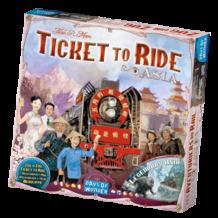 Ticket to Ride - Ázsia (eng)