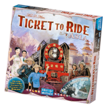 Ticket to Ride - Ázsia (eng)