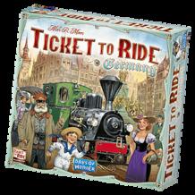 Ticket to Ride - Németország alapjáték (eng)