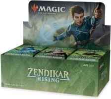 Magic The Gathering Zendikar Rising Booster Display - Draft Booster