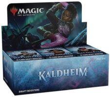 Magic The Gathering Kaldheim Booster Display - Draft Booster