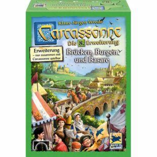 Carcassonne - Várak, hidak és vásárok - 8. kiegészítő (germ)