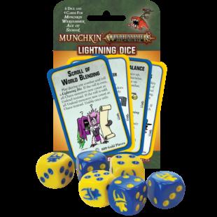 Munchkin Warhammer 40K - Age of Sigmar Lightning Dice