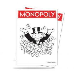 Ultra Pro - Standard kártyavédő - Monopoly - 66 mm x 91 mm (100 db)