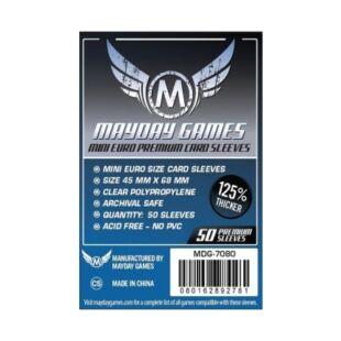 Kártyavédő tok - (50 db) - 45 mm x 68 mm - Mayday Games Prémium MDG-7080