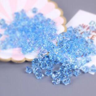 Acryl kristály - világos kék - /EV/