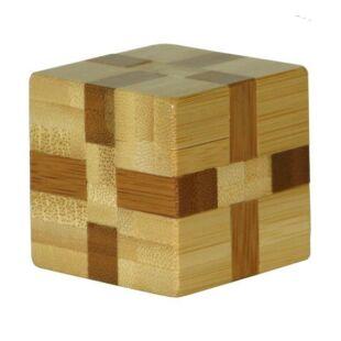 3D Bambusz puzzle - Cube