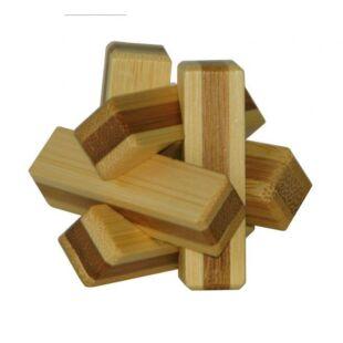 3D Bambusz puzzle - Firewood