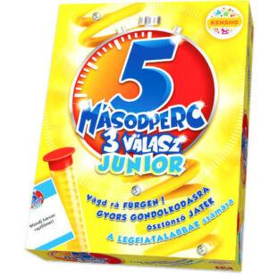 5 másodperc 3 válasz Junior