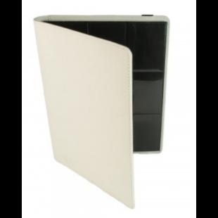 Card binder - kártya tartó mappa prémium cipzáras, fehér (9 kártyás) - /EV/