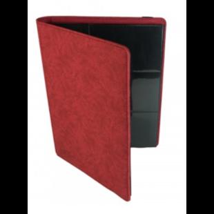 Card binder - kártya tartó mappa prémium, piros (9 kártyás) - /EV/