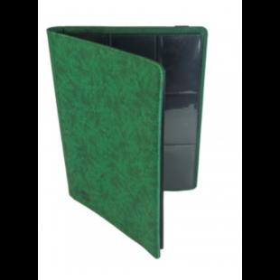 Card binder - kártya tartó mappa prémium, zöld (9 kártyás) - /EV/