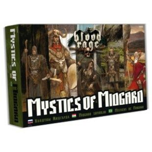 Blood rage Midgard sámánjai kiegészítő