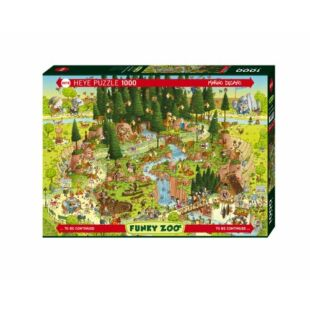 HEYE Puzzle - Black Forest Habitat 1000 db /EV/