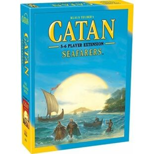 Catan Seafarers 5-6 fős (fa darabos) kiegészítő, angol nyelven - /EV/