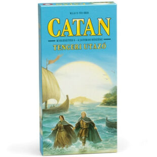 Catan Telepesei Tengeri utazó kiegészítő 5-6 főre