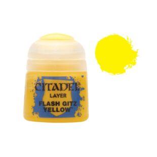 Citadel festék: Layer - Flash gitz yellow