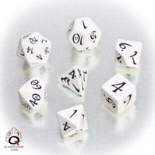 Dobókocka szett - Classic RPG - fehér (7 darabos)