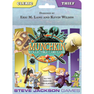 Cleric and Thief Starter Set: Munchkin CCG (eng) - /EV/