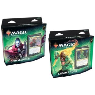 Magic the Gathering: Zendikar Rising Commander Deck (eng)