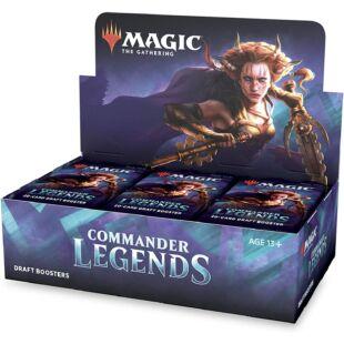 Magic the Gathering: Commander legends booster (eng) - /EV/