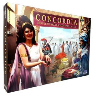 Concordia: Sestertiusszal kikövezett utak